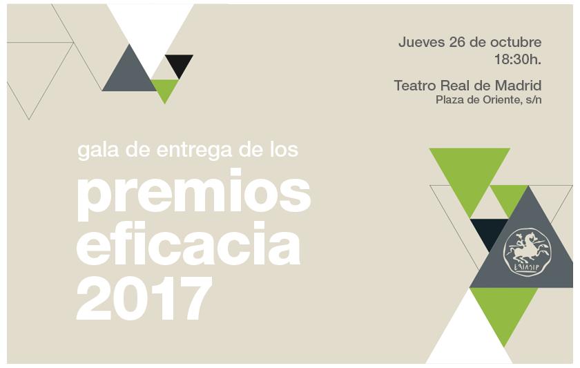 Gala Premios Eficacia 2017