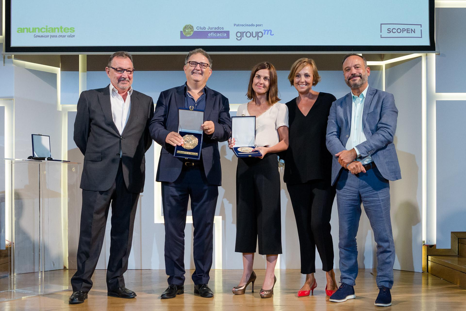 Premio a la Trayectoria Profesional para C.Burzako y J.M Rull